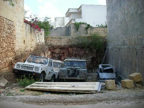 Autofriedhof ...
