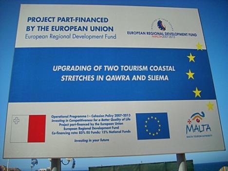 Malta ist in der EU angekommen ...