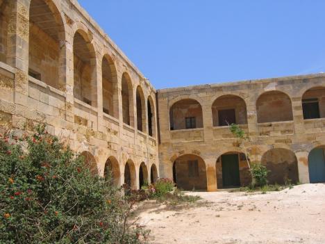 Quarantänehospital auf Comino