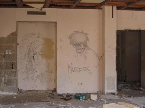 Noch ein Grafiti . . .