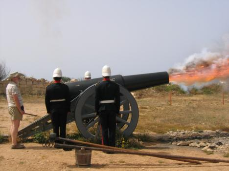 Fort Rinella, animated-tour at 2:30 pm