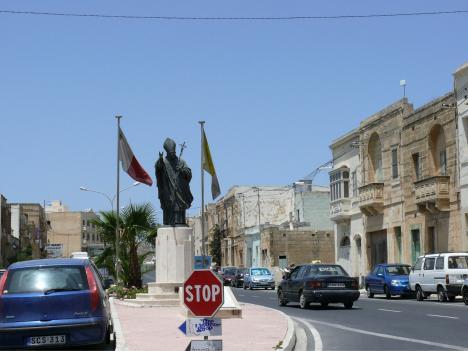Carol Wojtila auf Gozo