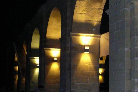 Upper Barrakka Gardens bei Nacht