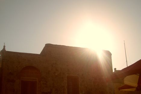 Sunset in Mdina