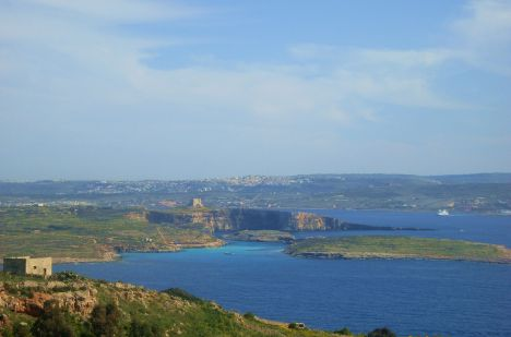 Aussichtsplatz in Qala, Gozo