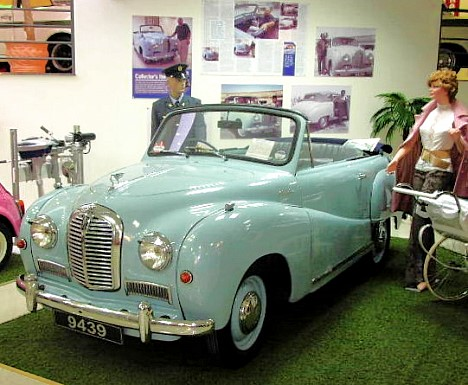 Austin A40 Somerset Convertible 1952