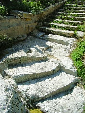 In welchem Ort findet man diese Stufen?