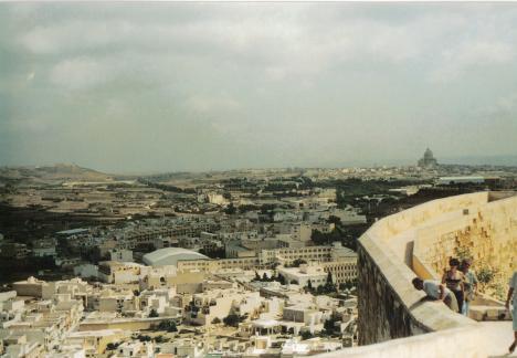 Blick von der Zitadelle