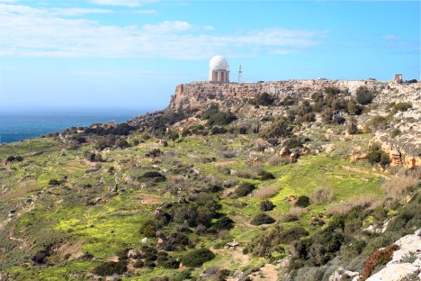 Dingli Coast mit Radarstation
