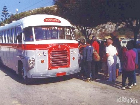 Gozo-Bus in Xlendi