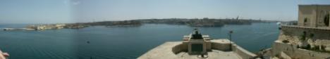 Blick über Grand Harbour