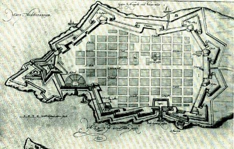 Valletta, ca. 1590