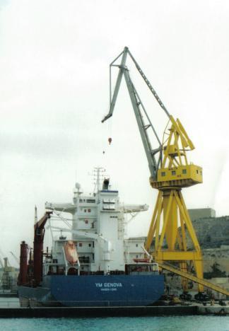 Docks in Malta
