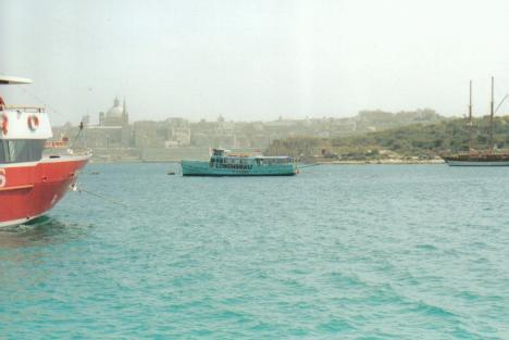 Beginn einer Hafenrundfahrt