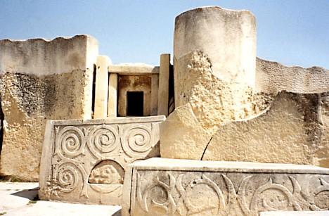 Prähistorischer Tempel