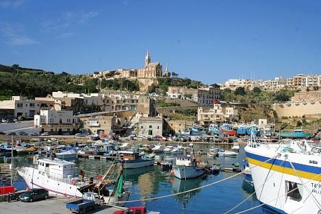 Mġarr, Hafen