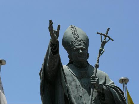 Wo steht der ehemalige Pontifex?