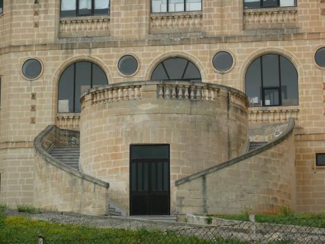 Wohin führt dieser Treppenaufgang?