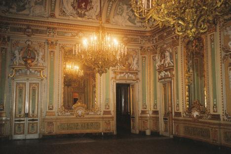 Palazzo Parisio, Innenaufnahme