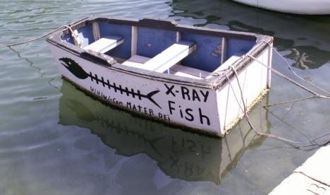 """Was ist der """"Heimathafen"""" dieser High-Tech-Yacht?"""