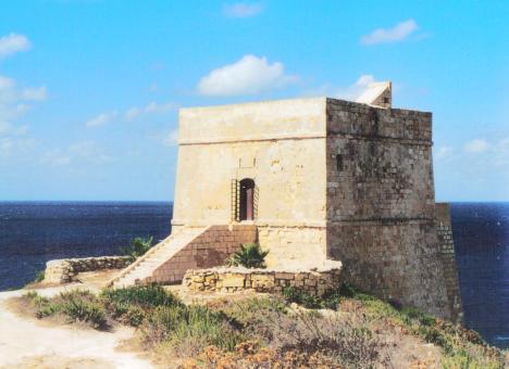 Xlendi-Tower